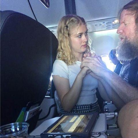 Clara Daly und Tim Cook