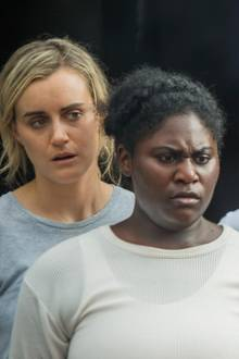 "Taylor Schilling, Danielle Brooks (ab 27. Juli in der 6. Staffel von ""Orange is the New Black"" zu sehen)"