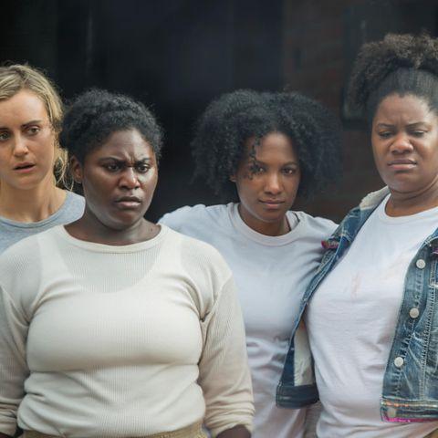 """Taylor Schilling, Danielle Brooks (ab 27. Juli in der 6. Staffel von """"Orange is the New Black"""" zu sehen)"""