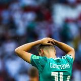 Es sollsein großer Moment werden: Der Schalker Leon Goretzka darf von Anfang an ran und sollder Nationalmannschaft gegen Südkorea zu einem Sieg verhelfen. Leider hat er seine Chance nicht nutzen können.