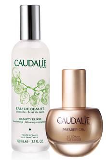 """Auch in Sachen Beauty setzt Lea Woitack auf Nachhaltigkeit und benutzt zum Beispiel die natürlichen Produkte von Caudalie. (Gesichtstonic """"Eau de Beauté"""", ca. 13 Euro; Serum """"Premier Cru"""", ca. 100 Euro)"""