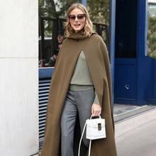 Fashionista Olivia Palermo auf dem Weg zu einer Fashion Show in Paris.