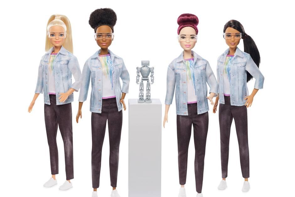 Barbie mal anders als Robotik-Ingenieurin