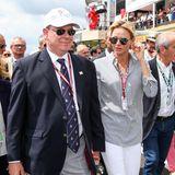 24. Juni 2018  Formel-1-Rennengehören fest auf den fürstlichen Terminplan vonCharlène und Albert, auch die, die nicht in Monaco selbst, sondern in Frankreich stattfinden. Wie der Große Preis von Frankreich in Le Castellet, bei dem sich die beiden ganz entspannt den Zuschauern präsentierten.
