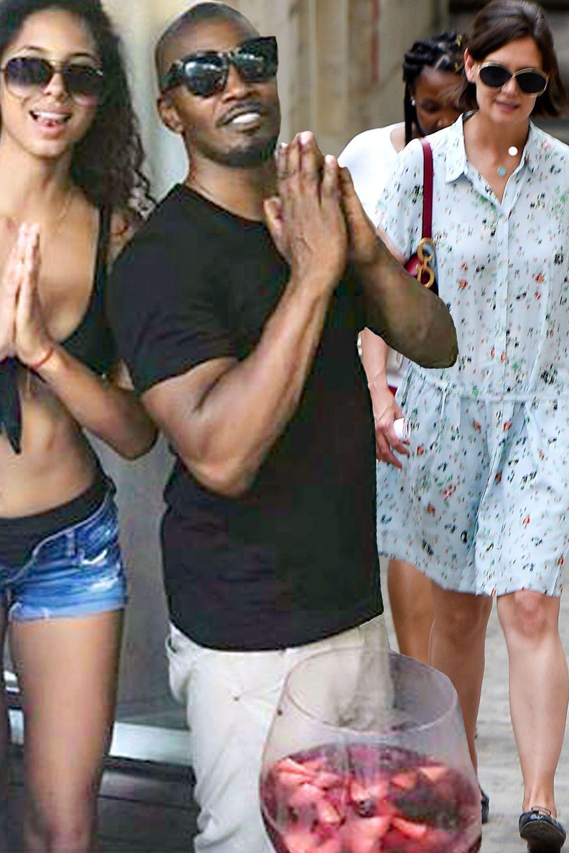 Jamie Foxx, Katie Holmes + Tochter Suri Cruise