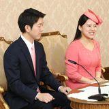 2. Juli 2018  Am 26. Juni wurde die Verlobung von Prinzessin Ayako und Kei Moriya bekannt. Nun geben die Prinzessin und der Geschäftsmann strahlend eine offizielle Pressekonferenz.Geheiratet wird am 29. Oktober beim Meiji-jingu Schrein in Tokio.