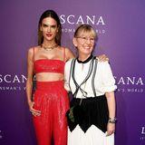 Supermodel und Lascana-Testimonial Alessandra Ambrosio kam in Begleitung von Sarah Rissen, Head of Marketing der Marke.