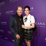 Hardy Krüger Jr. brachte seine Ehefrau Kathrin mit zur Fashion Show.