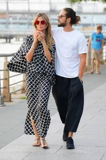 Momentan scheint es, als wären bei allen Dates von Heidi Klum und ihrem Tom Kaulitz die Fotografen zur Stelle. Auch während eines Spaziergangs entlang des Hudson Rivers in New York werden die beiden Turteltauben gesichtet.