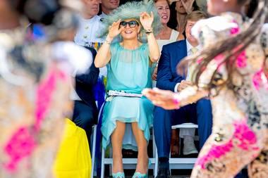 Staatsbesuch auf Curaçao: Königin Máxima in Tanzlaune