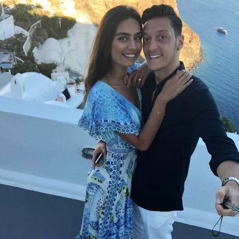 Amine Gülse und Mesut Özil