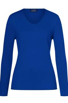 100% Cashmere V-Neck Pullover, in den Farben offwhite, pink, royal, schwarz, anthrazit melange oder hellgrau melange. Preisca. 109,99 Euro.Erhältlich auf www.hse24.de/my-cashmere-moments-by-gala