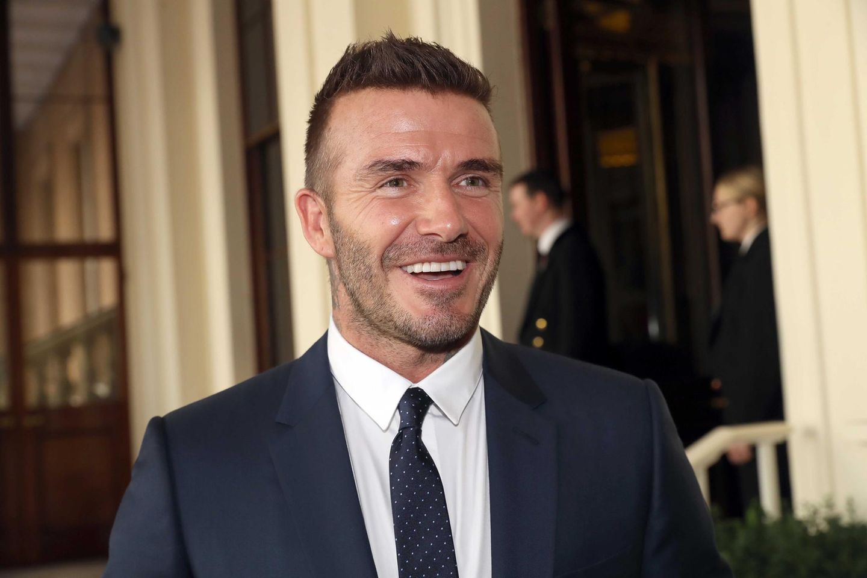 Englischer Ex-Nationalspieler David Beckham