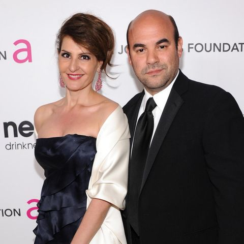 """My Big Fat Greek Wedding""- Star Nia Vardalos und US-Schauspieler Ian Gomez"