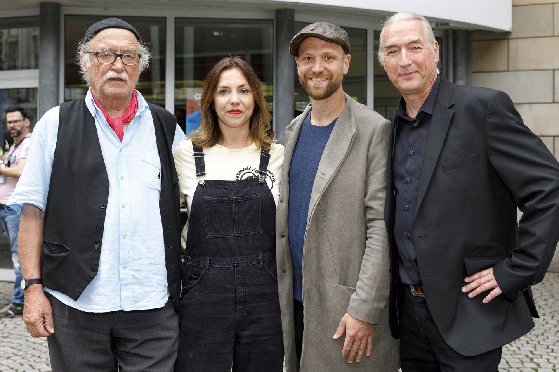 Hans W. Geißendörfer, Hana Geißendörfer, Moritz A. Sachs und Bernd Desinger