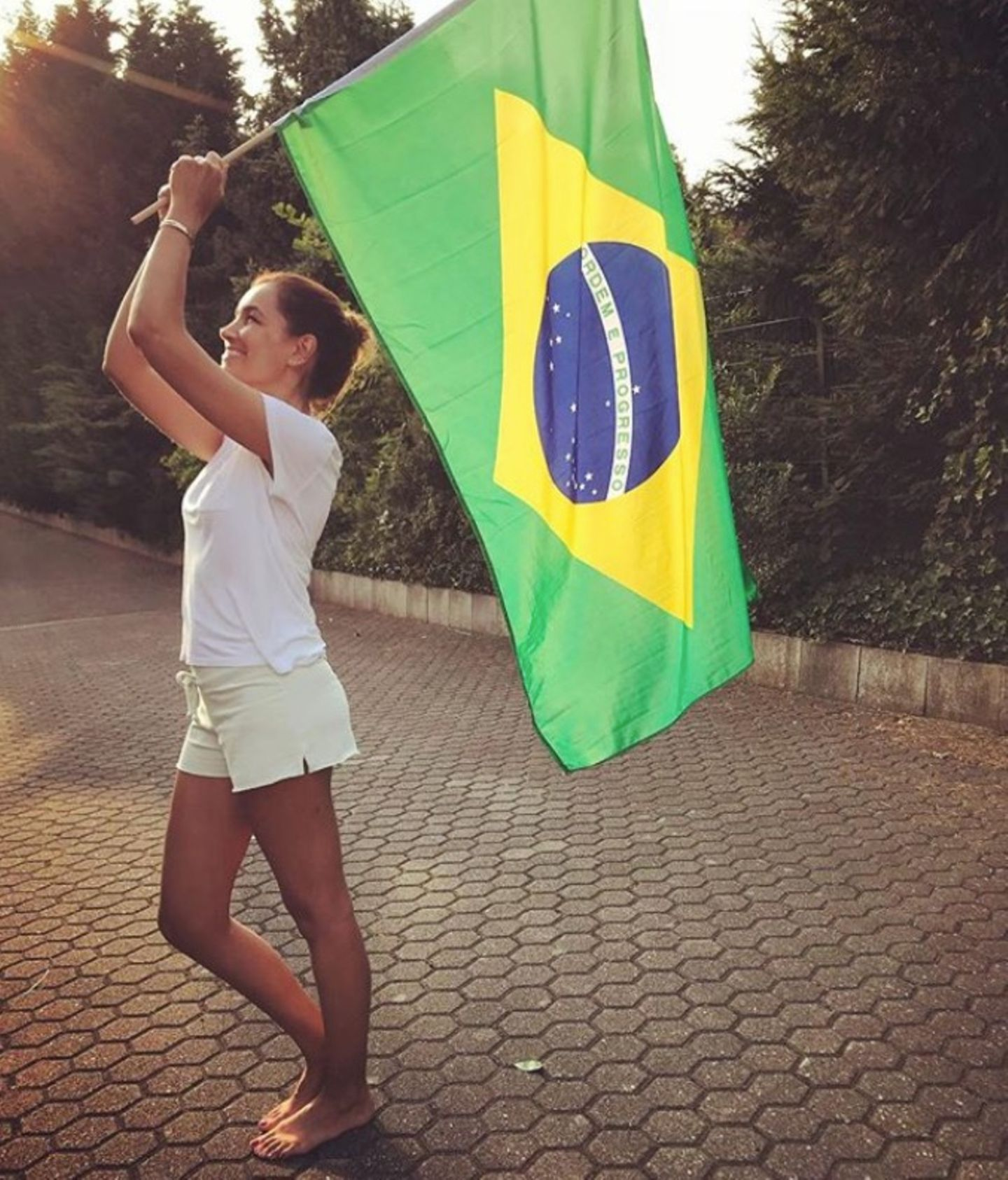 Das Land Brasilien hat uns viele schöne Models beschert: Jana Ina Zarrella ist da keine Ausnahme.