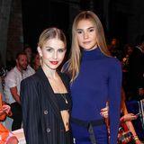 Die Social-Media-Stars und Fashionistas Caro Daur und Stefanie Giesinger waren ebenfalls zu Gast bei Marc Cain.