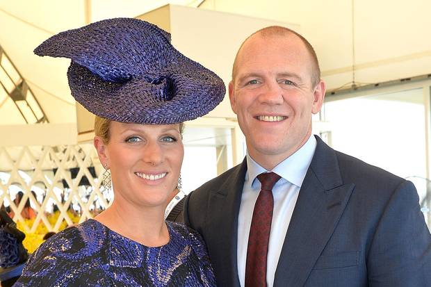 Zara + Mike Tindall