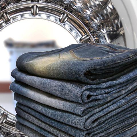 Jeans gehört nicht in die Waschmaschine!