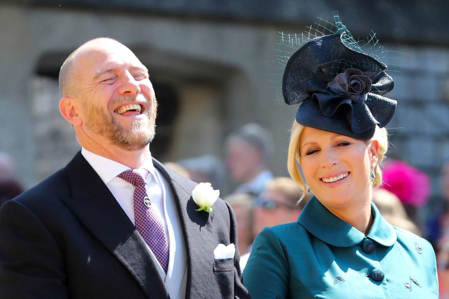 Mike + Zara Tindall