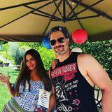 Bei Sofia Vergaraund Ehepartner Joe Manganiello wird der 4. Juli mit einer tollen Gartenparty gefeiert.
