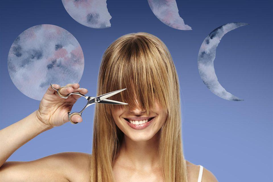 Mondkalender Haare schneiden