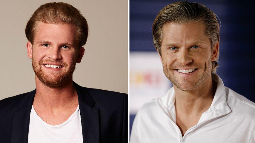 Jan Elsigk und Paul Janke sehen sich zum Verwechseln ähnlich