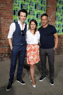 Hugo-Boss-Fans: Sabin Tambrea, Alice Dwyer und Tom Wlaschiha