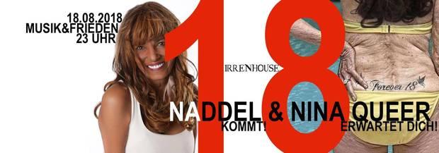 Nadja Abd el Farrag: Naddel kommt ins Irrenhouse