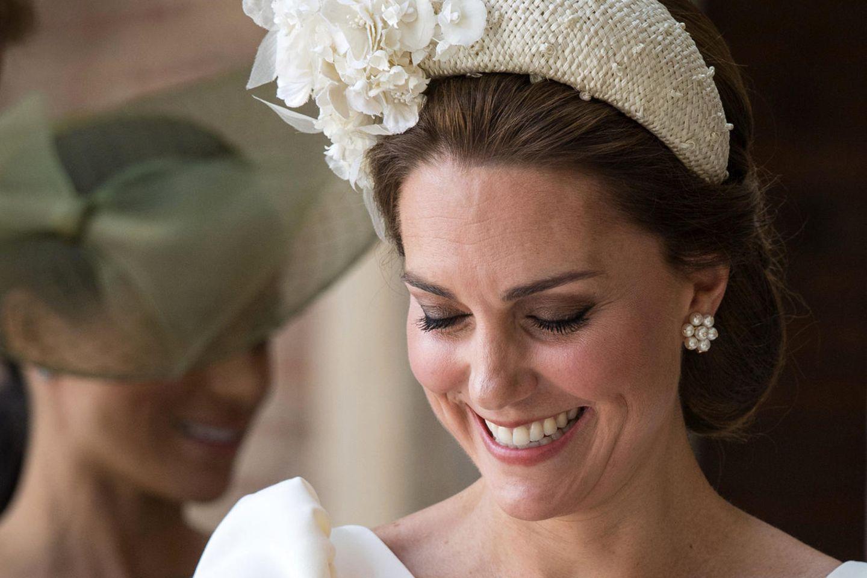 Herzogin Catherine mit Täufling Prinz Louis