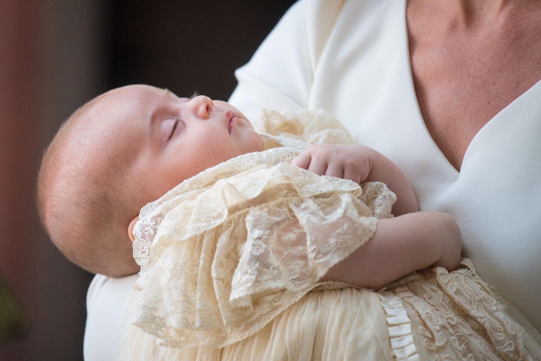 Prinz Louis bei seiner Taufe