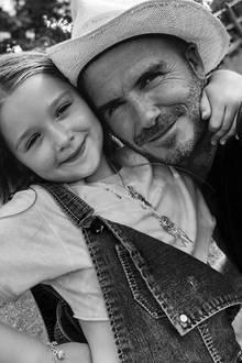 """10. Juli 2018  Papa David Beckham gratuliert seiner Tochter Harper Beckham zum siebten Geburtstag mit rührenden Worten: """"Was kann ich anderes über meine kleine Prinzessin sagen als, dass sie perfekt in jeglicher Art und Weise ist."""""""