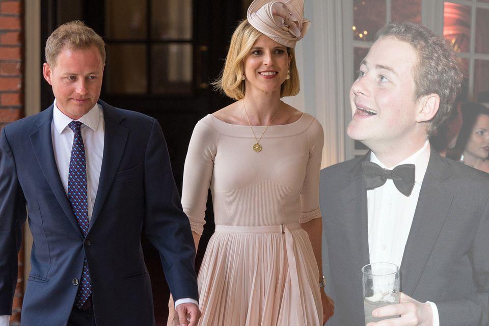Guy Pelly mit Ehefrau Lizzy