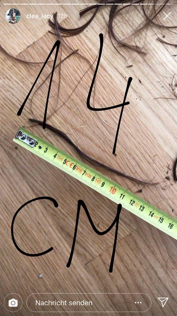 Clea-Lacy Juhn: Neuer Look nach der Trennung: 14 Zentimeter Haare ab