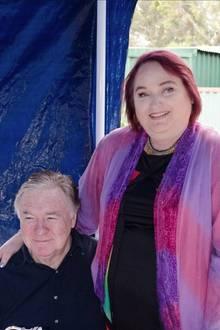 Shirley Potter und ihr Mann.