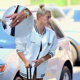 10. Juli 2018  Was für ein Klunker! Justin Bieber scheint bei dem Verlobungsring seiner Zukünftigen keine Kosten und Mühen gescheut zu haben. Ein riesiger Diamant funkelt auf Hailey Baldwins Ringfinger, als sie beim Ankommen aus demBahamas-Urlaub mit Justin in New York abgelichtet wird.