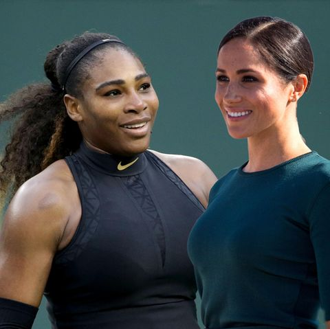 Serena Willams und Meghan Markle