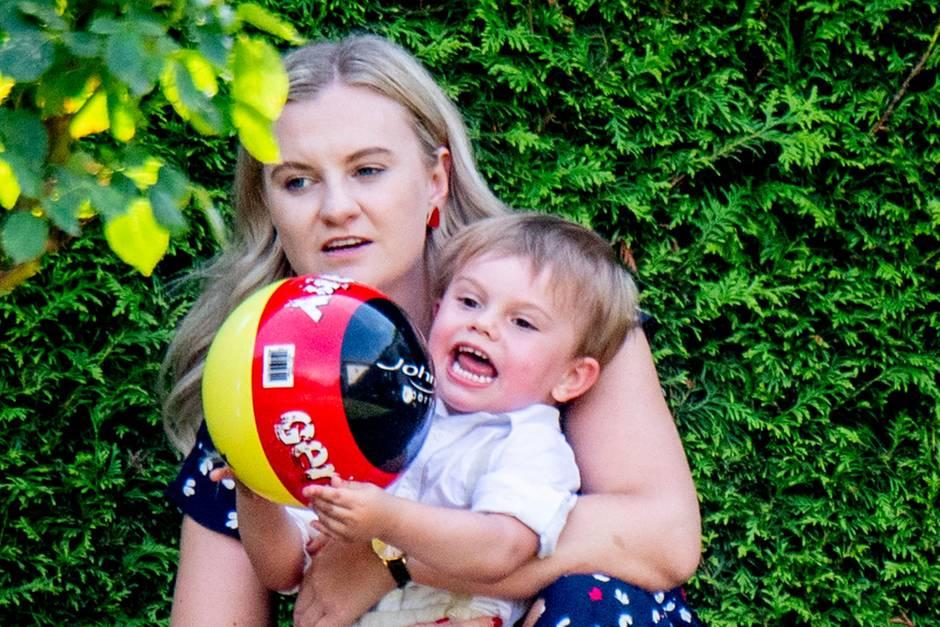 Nanny Philippa + Prinz Oscar