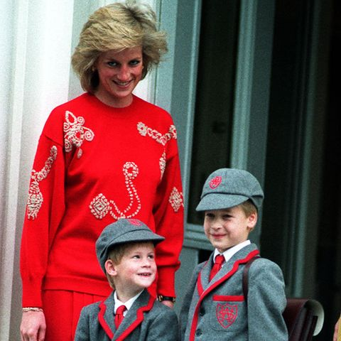 Lady Diana, Prinz Harry, Prinz William