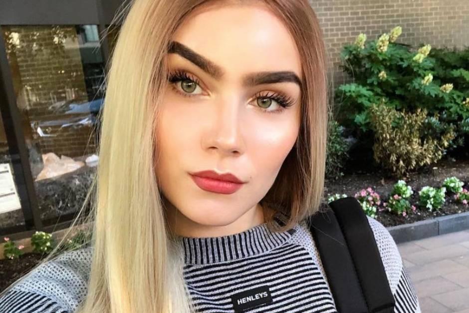 Nathalie Volk, erblondet