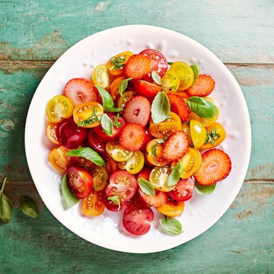 Erdbeeren und Tomaten sind Allergieauslöser