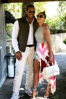 17. Juli 2018  Die beiden Sonnenbrillenträger verstehen sich blendend: Alex Rodríguez und seine J.Lo.