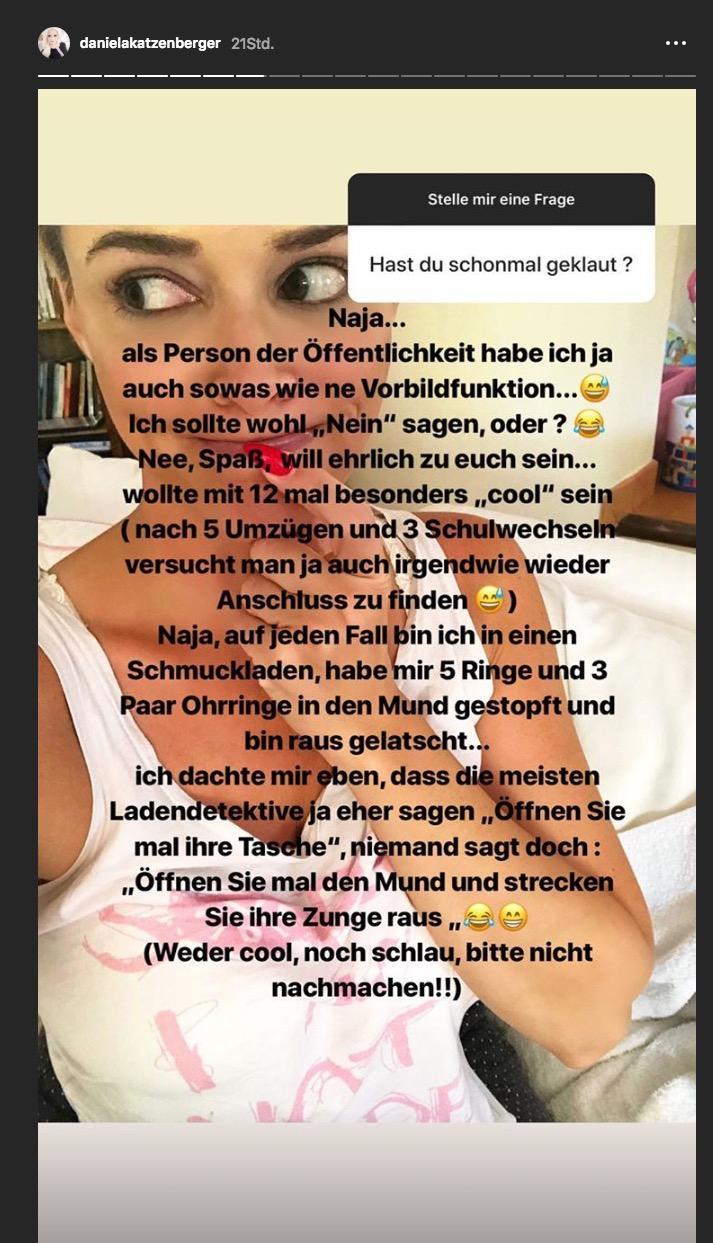 Daniela Katzenberger: Dieses Geständnis aus ihrer Jugend überrascht