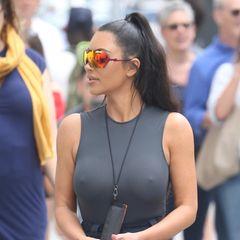 Pferdeschwanz Kim Kardashian