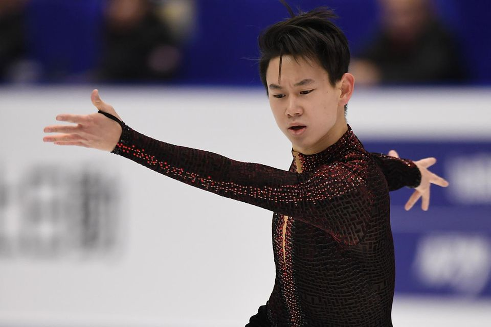 Denis Ten bei den Winter-Asienspielen 2017