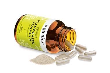 """Healthy Kapsel-Kick: Ogaenicssorgt - besonders nach dem Sport - für das Extra an wichtigen Nährstoffen, vor allem aber für natürliches Vitamin C, das wichtig für ein gesundes Immun- und Nervensystem ist. """"Healthy Kick"""",30 Kapseln, ca. 27 Euro."""