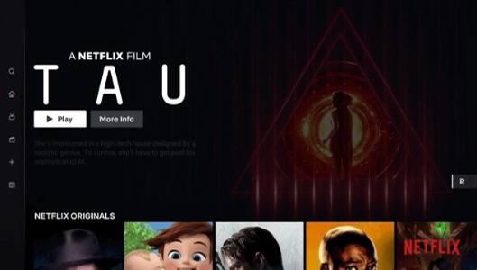 Neues Netflix-Design für den Fernseher