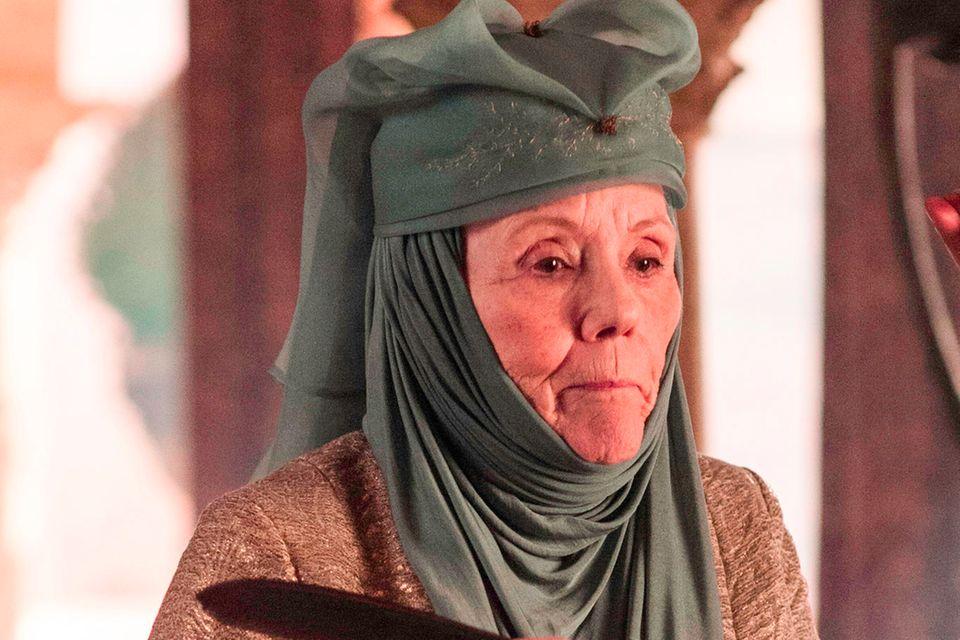 "Diana Rigg aliasLady Olenna Tyrell in ""Game of Thrones"""