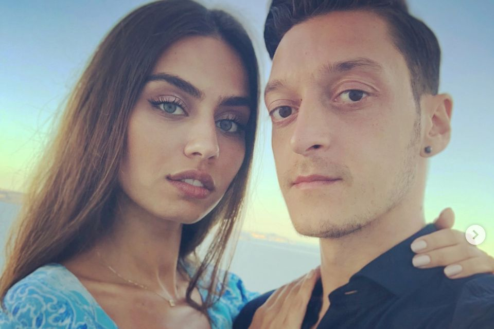 Amine Gülse und Mesut Özil sind seit 2016 ein Paar