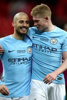"David Silva und Kevin De Bruyne sind bald (ab 17. August) im Prime Video Original ""All or Nothing: Manchester City"" zu sehen"